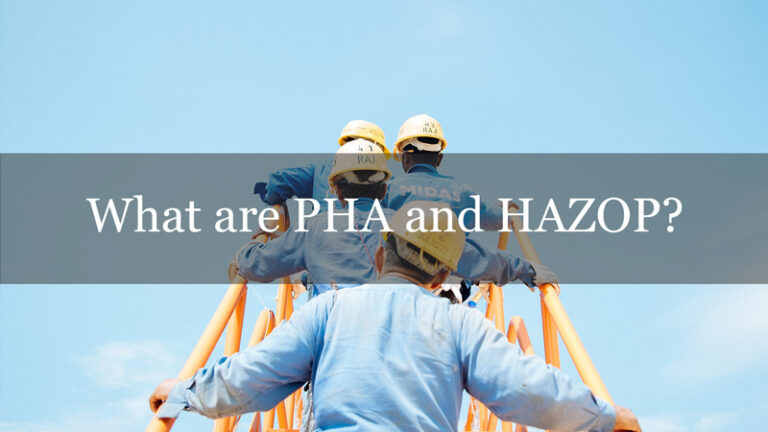 What are PHA and HAZOP?