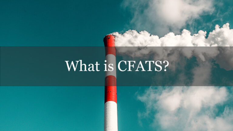 What is CFATS?