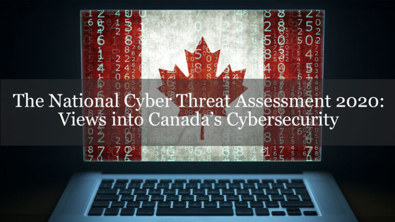 The National Cyber Threat Assessment 2020: Views into Canada's Cybersecurity